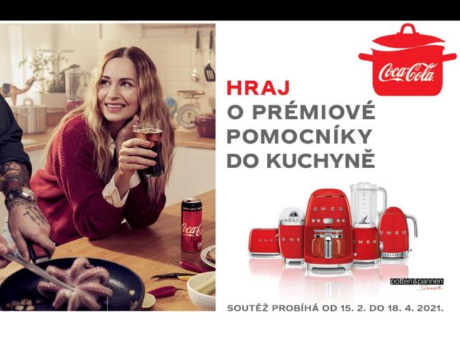 soutěž Coca-Cola kuchyňské spotřebiče