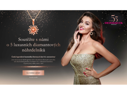 Dermacol soutěž šperky župany parfémy