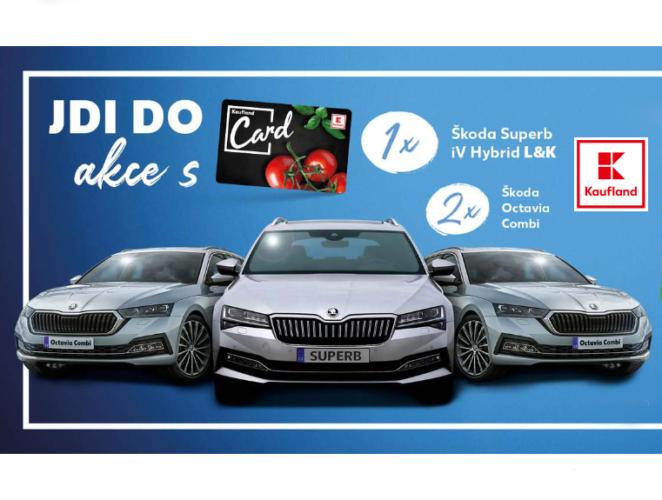 soutěž Kaufland auto nákupní poukázky televize