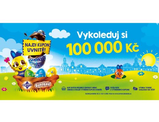 Orion soutěž duté figurky hotovost 100.000 Kč
