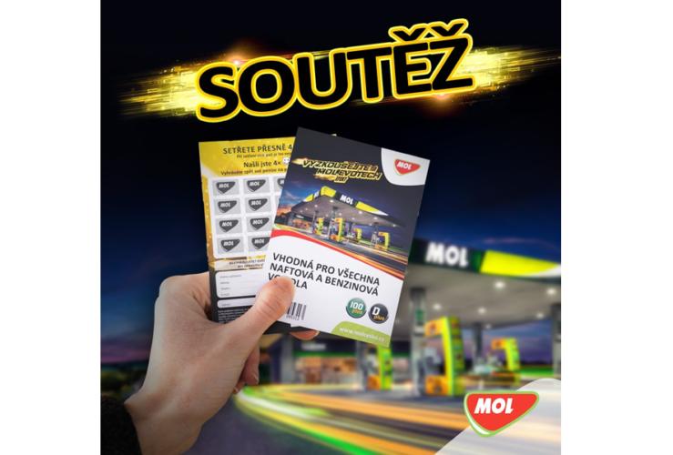 MOL palivové karty soutěž