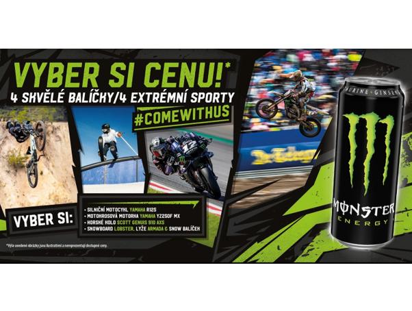 Monster Energy soutěž motorky