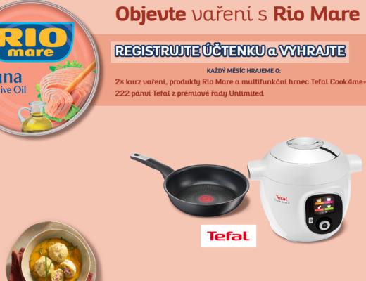 soutěž Rio Mare kurz vaření pánev multifunkční hrnec