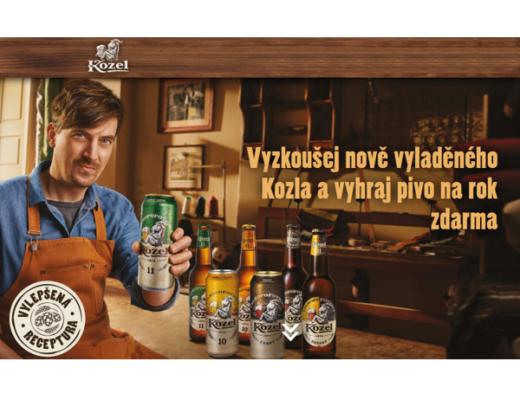 soutěž Velkopopovický kozel pivo zdarma Flop Top Potraviny CZ