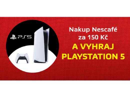 soutěž Nescafé Terno herní konzole Playstation